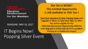 Limited Time: Full Education Reimbursement Opportunity -Deadline May 13, 2017